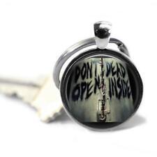 The Walking Dead Don't Open Dead Inside 1 Inch Pendant Key Chain Handmade