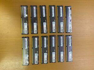 (48 GB) LOT OF 12- Hynix HMT151R7TFR4C-H9 4GB 2Rx4 PC3-10600R ECC REG Memory