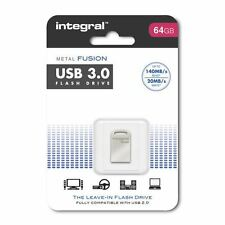 Integral Fusion - 64 GB - Tiny Leave-in Design with Fast USB 3.0 Transfer Speeds