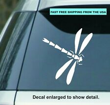 "Dragonfly 5.5"" Vinyl Decal Sticker Perfect for car Laptop Window Wall yeti Cup"
