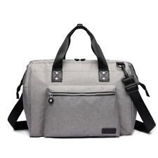 Mummy Maternity Baby Changing Bag Backpack Nappy Diaper Wipe Clean Grey E1802