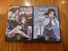 You're Under Arrest: Full Throttle Collection 1 + 2 (Sentai dvd set)