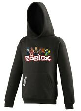 Personalised Roblox Hoodie or t-shirt add a name, kids hooded top warm