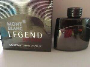 MontBlanc Legend Intense 50ml 2014 first batch Discontinued