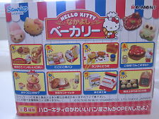 "Re-Ment ""Hello Kitty Bakery"" - Full Sets #1-#8 Kawaii Sanrio 1:6 scale mini food"