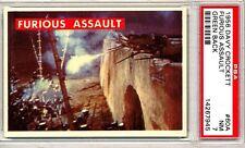 1956 Davy Crockett # 60A  Furious Assault - PSA 7