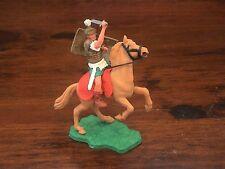 Timpo Mounted Roman - Rare Green Skirt/ White Scabbard - 1960's