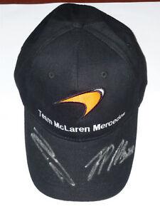 Signed Raikkonen / Montoya Team Mclaren Cap