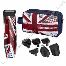 Mens Cordless Facial Hair Grooming Kit BaByliss World Cup Special Edition Kit
