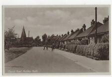 Church Road Hockley Heath Birmingham Vintage Postcard 220a
