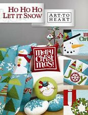 HO HO HO LET IT SNOW Art To Heart NEW Book Quilting Applique Nancy Halvorsen