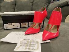 Ruthie Davis Bella Neon Pink Heels size 38 (US 7.5)