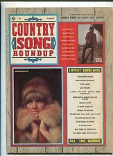 Country Song Roundup Aug  Skeeter Davis Slim Whitman Freddy Weller  MBX86