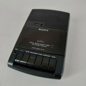 Sony TCM-929 Cassette Player/Recorder with Power Cord For Parts/Not Working