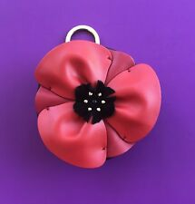 Kate Spade Ooh La La Poppy Coin Purse Mini Leather Goods NWT Pretty!