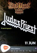 JUDAS PRIEST TOURPOSTER KONZERTPLAKAT PRIEST FIEST TOUR 2008 LUXEMBURG ROCKHAL