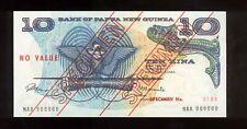 Papua New Guinea 1975 10 Kina Specimen №189 UNC first issue