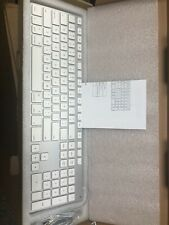 NEW Aluminum USB Wired Keyboard with Numeric Keypad for Apple Mac iMac Macbook