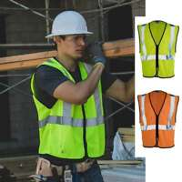 ML Kishigo Class 2 Zippered Mesh Economy Vest 1547-1548