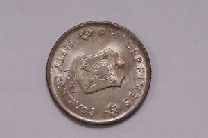 PHILIPPINES 50 CENTAVOS 1947 MCCARTHUR SILVER HIGH GRADE B32 #4546