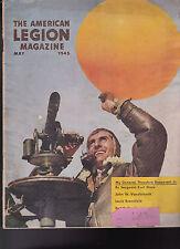 American Legion Magazine World War II Weather Observer Cover May 1945