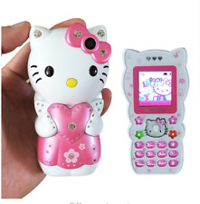 Unlocked Hello Kitty Bar Mobile Power Small Cartoon Dual SIM Mini Mobile Phone