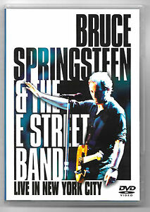 DVD / BRUCE SPRINGSTEEN & THE E STREET BAND LIVE IN NEW YORK (MUSIQUE CONCERT)