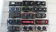 15 Stück Grafikkarten im Paket - u.a. TITAN X/ RX 580/ RX 480/ GTX 970/ HD 7970