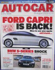 Autocar August Cars, 2000s Transportation Magazines