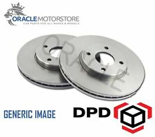 NEW FRONT 256 MM VENTED BRAKE DISCS SET BRAKING DISCS PAIR OE AFTERMARKET RS3106