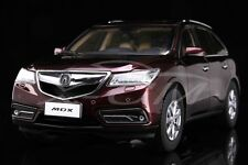 Diecast Car Model Acura MDX 1:18 (Bordeaux/Red)   + GIFT!!!