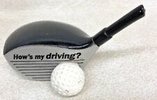 HOW IS MY DRIVING, GOLF 2009 CROWN HMK