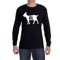 San Antonio Spurs Tim Duncan Goat Long sleeve Shirt