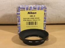 Brand New Nikon HK-2 Slip-On Lens Hood For 24mm F2 AI AIS Manual Lens w/ Box