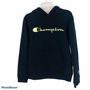 CHAMPION Athletic Wear Boy's Youth Hoodie Sweatshirt Medium (8-10) Blue