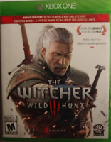 THE WITCHER WILD III HUNT - XBOX ONE - NEW & SEALED