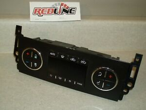 08 GMC Sierra Silverado 1500 2500 3500 AC Heater Temperature Control 25869948