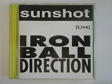 SUNSHOT ( LIVE ) : IRON BALL DIRECTION - [ CD ALBUM ] --> PORT GRATUIT