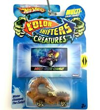 Hot Wheels RODZILLA Color Shifters Creatures Car Tan Die Cast 1/64 Scale