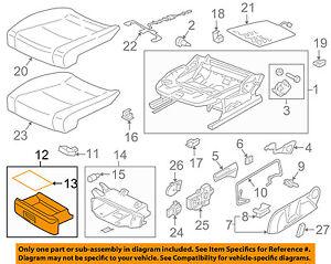 VW VOLKSWAGEN OEM 15-18 Golf Front Seat-Storage Drawer Left 5GM882601ZA2