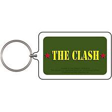 The Clash Army Logo lucite (plastic) Keyring    (cv)