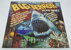 Geoff Love And His Orchestra - Big Terror Movie Themes LP Record Vinyl 1976
