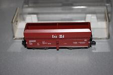 Fleischmann 8520 K 4-Achser Großraumgüterwagen Erz IIId DB Spur N OVP