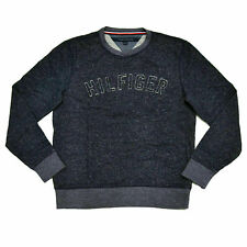Tommy Hilfiger Mens Sweater Graphic Logo Outerwear Pullover Knit Xl Gray New Nwt