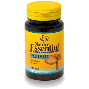 REISHI ( MICELIO ) 400 mg. 50 Cápsulas - NATURE ESSENTIAL -