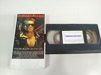 Terminator Arnold Schwarzenegger James Cameron - VHS Kassette Tape Spanisch