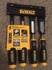 """'DEWALT WOOD CHISEL SET 4 PIECES DWHT16063(6/12/18/25mm)"""""""
