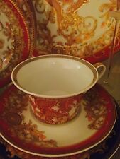 VERSACE ASIAN MEDUSA DRAGON CUP SAUCER SET NEW IN BOX Retail $300