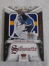 Jaroslav Halak 2012-13 Crown Royale Silhouette Prime Patch #2/25 Blues