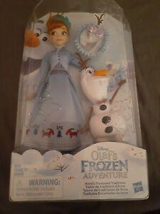 11'' Anna Disney Olaf's Frozen Adventure Anna's Treasured Traditions Doll NEW